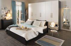 Camera da letto Ikea - Arredare casa con meno di 10000 euro: camera da letto Ikea.