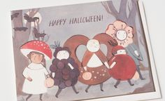Haloween Kids | Red Cap Cards