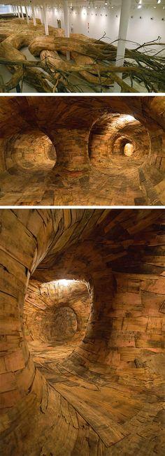 Tree Caves.