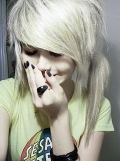 awesome emo hair