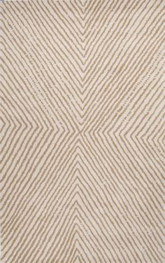$5 Off when you share! Jaipur Rugs En Casa by Luli Sanchez Tufted Concentric White Rug #RugsUSA