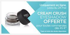 Cream Crush Eyeshadow - KIKO MILANO