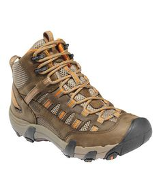 Take a look at this Shitake & Burnt Orange Alamosa Mid All-Terrain Boot - Women by KEEN Women & Men on @zulily today!