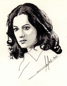 Paget Brewster by Toon24