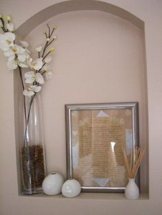 Wall Niche Decor love this niche idea | for the home | pinterest
