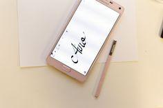 #samsunghandwriting #Note4