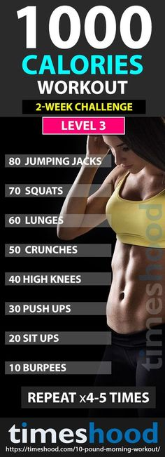 Weight Loss Program For Women 1000 calories workout challenge: Fat burning workout. Lose 10 pounds in 2 weeks with this morning workout. Fast weight loss plan for women check your . Fast Weight Loss Plan, Weight Loss Program, Easy Weight Loss, How To Lose Weight Fast, Losing Weight, Reduce Weight, Workout For Weight Loss, Lose Fat Workout, Slim Waist Workout