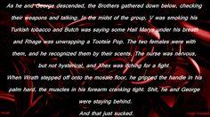 Staying behind. The Brothers, Wrath, Avenged. Black Dagger Brotherhood Books, Brotherhood Series, Dark Hunter, Butches, Book Series, Badass, Jr, Reading, Reading Books