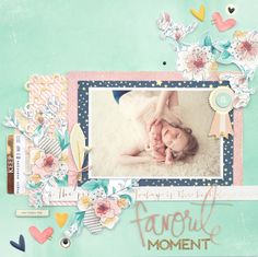 Layout by Jot Girl Meghann Andrew for our April Mood Board challenge.