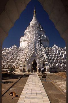 Mingun, pagode