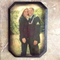 Photo transferred to piece of wood I bought for $2 at Micheals. Paint wood with a gel medium from paint section at Micheals. Put photo face down and rub to smooth out for no bubbles. Let dry overnight. Next day put under hot running water for a few mins until you pull the corner back and can see the image has transferred. Pull off and seal with mod podge spray or gel. I used spray and then spray painted edges black for some shading. Super cool! :)