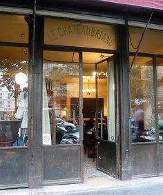 Neobistrot, cuisine française: Le CHATEAUBRIAND 129, avenue Parmentier Paris (75011) MÉTRO : Goncourt & Parmentier