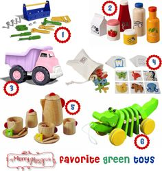 My Merry Messy Life: My Favorite Green and Eco-Friendly Toys from Green Toys and Plan Toys #christmas #toys #educationaltoys