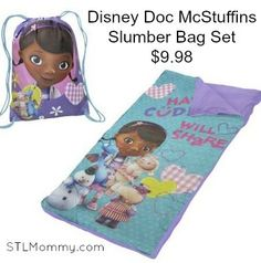 STL Mommy « Disney Doc McStuffins Slumber Bag Set $9.98 (Retail $19.99)