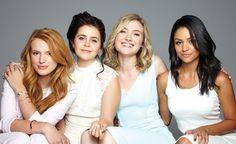 CBS Films - The DUFF - Bella Thorne, Mae Whitman, Skyler Samuels, & Bianca Santos.