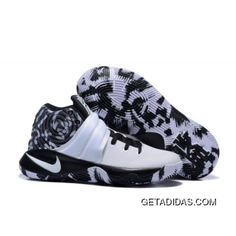 109965446e40 Nike Kyrie 2 Shoes White Black Camouflage Basketball Shoes Online