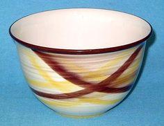 Taça Vernonware, formato Montecito, decoração Organdie, com 20 cm de diâmetro