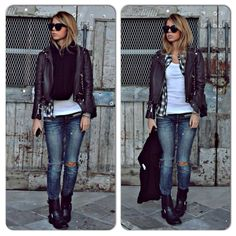 Street style Edgy Look, Street Style, Style Inspiration, My Style, Pants, Outfits, Passion, Trouser Pants, Suits