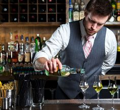 Ignore the bloke; smart looking bar. The Bartender Questions: Drinking Well Edition