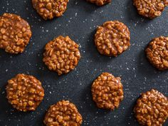 No-bake cookies made from gooey caramel, creamy milk chocolate, and crunchy rice...what more is there to explain?!