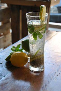 Es ist ziemlich normal sich zu fragen, wie es möglich ist, Gewicht zu verlieren, indem man eine Mischung trinkt, die nur Chia-Wasser