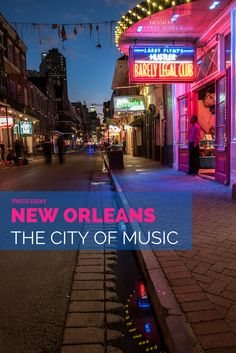 Delve into the street music scene of New Orleans and let yourself be enchanted by the beautifully historic French Quarter.