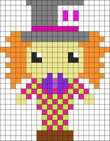 Minecraft Pixel Art Templates Kermit The Frog Minicraft Ideas