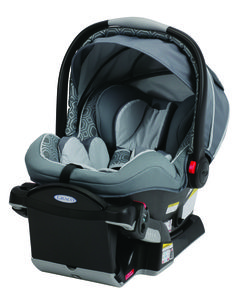 #Graco SnugRide Click Connect 40 in Echo is the ONLY newborn to 2 year infant car seat, providing comfort and protection for babies from 4-40lbs. #BRUGreatTradeIn