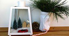 Haz un bonito adorno de Navidad con un farol