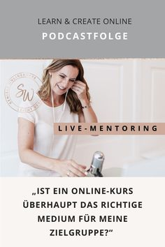 Sei live dabei, wenn ich zusammen mit Anja im Podcast ein stimmiges Online-Konzept für ihr Herzensbusiness erarbeite. Onlinebusiness | Geld im Internet verdienen | Trainer | Onlineworkshop | #Onlineworkshop #Marketing #Strategieexperten