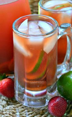 Strawberry Lime Infu