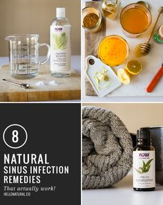 8 Sinus Infection Home Remedies | HelloNatural.co
