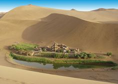 Dunhuang – An oasis on the Silk Road to western China