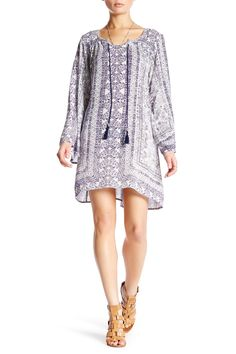 Long Sleeve Front Tie Dress by Angie on @nordstrom_rack