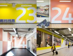New Logo and Identity for London Luton Airport by ico Design