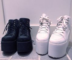 Black pair - ROOBIN'S, White pair - Y.R.U