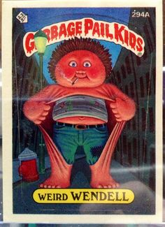 1987 Topps Garbage Pail Kids Trading Card 294a by LEATHERGLACIER, $2.00