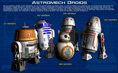 Astromech Droids tech readout [New] by unusualsuspex.deviantart.com on @DeviantArt