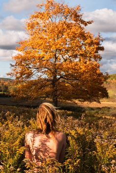 """Ryan McGinley's newest photo series, """"Fall"""" and """"Winter,"""" were shot in upstate New York. Here, """"Big Leaf Maple,"""" from the """"Fall"""" project. (Photo: Ryan McGinley, courtesy of Team Gallery)"""