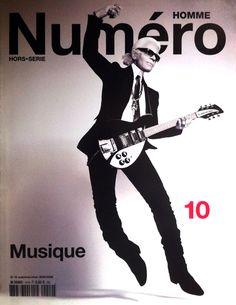 #NumeroHomme 10 #KarlLagerfeld by #JeanBaptisteMondino