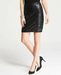 Ann Taylor Petite Sequin Mini Skirt on shopstyle.com