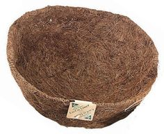 Gardman R885 18-Inch Pre-formed Hanging Basket Coco Liner by Gardman. $16.09. Long lasting coco fibers. Pre-formed for easy installation. Basket shaped coco liner. 18-Inch L by 8-Inch H by 18-Inch W. The popular choice among consumers and growers. Gardman usa r885 18-inch pre-formed hanging basket coco liner