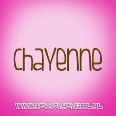Chayenne (Voor meer inspiratie, en unieke geboortekaartjes kijk op www.heyboyheygirl.nl)