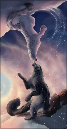 Animals Discover anime Tiere Parallel Worlds by Avinna - Fantasy - Mythical Creatures Art Mystical Animals Mythological Creatures Magical Creatures Dark Fantasy Art Fantasy Artwork Wolf Artwork Cute Animal Drawings Cute Drawings Cute Fantasy Creatures, Mythical Creatures Art, Mythological Creatures, Magical Creatures, Dark Fantasy Art, Fantasy Artwork, Wolf Artwork, Cute Animal Drawings, Cute Drawings