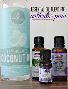 "Essential Oil Arthritis Anti Inflammation Blend Rub Recipe  Homesteading  - The Homestead Survival .Com     ""Please Share This Pin"""