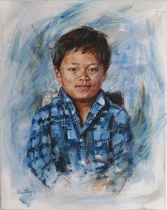 Joshua | Esther van Tilburg - portretschilder
