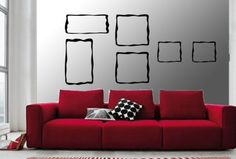 decals - funky frames - loves these!