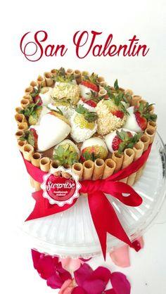 Torta fresas chocolate galleta