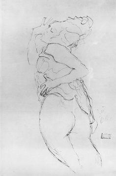Gustav Klimt - Jeune femme