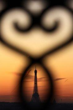 Eiffel Tower - Paris, France - View